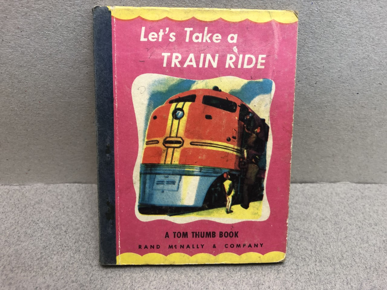 Image for Let's Take a Train Ride : A Little Book