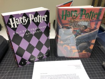 Image for HARRY POTTER AND THE PRISONER OF AZKABAN ( Plus proof copy)