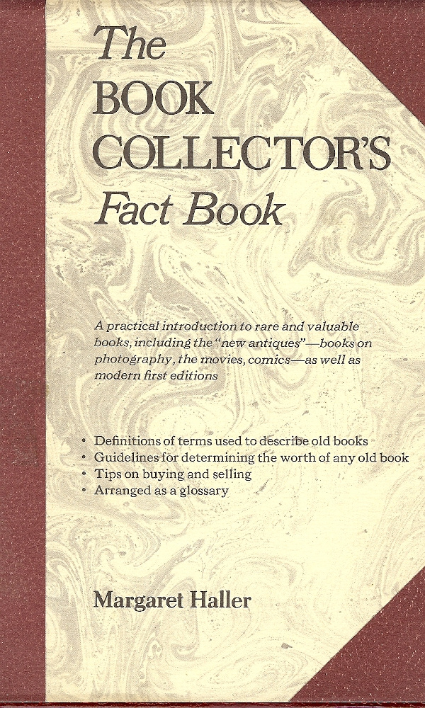 Image for The Book Collector's Fact Book