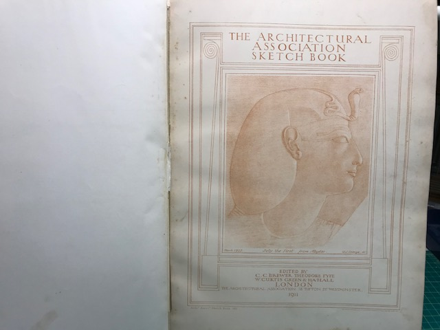 Image for THE ARCHITECTURAL ASSOCIATION SKETCH BOOK 1911