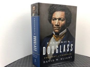 Image for FREDERICK DOUGLASS : Prophet of Freedom (signed & dated)