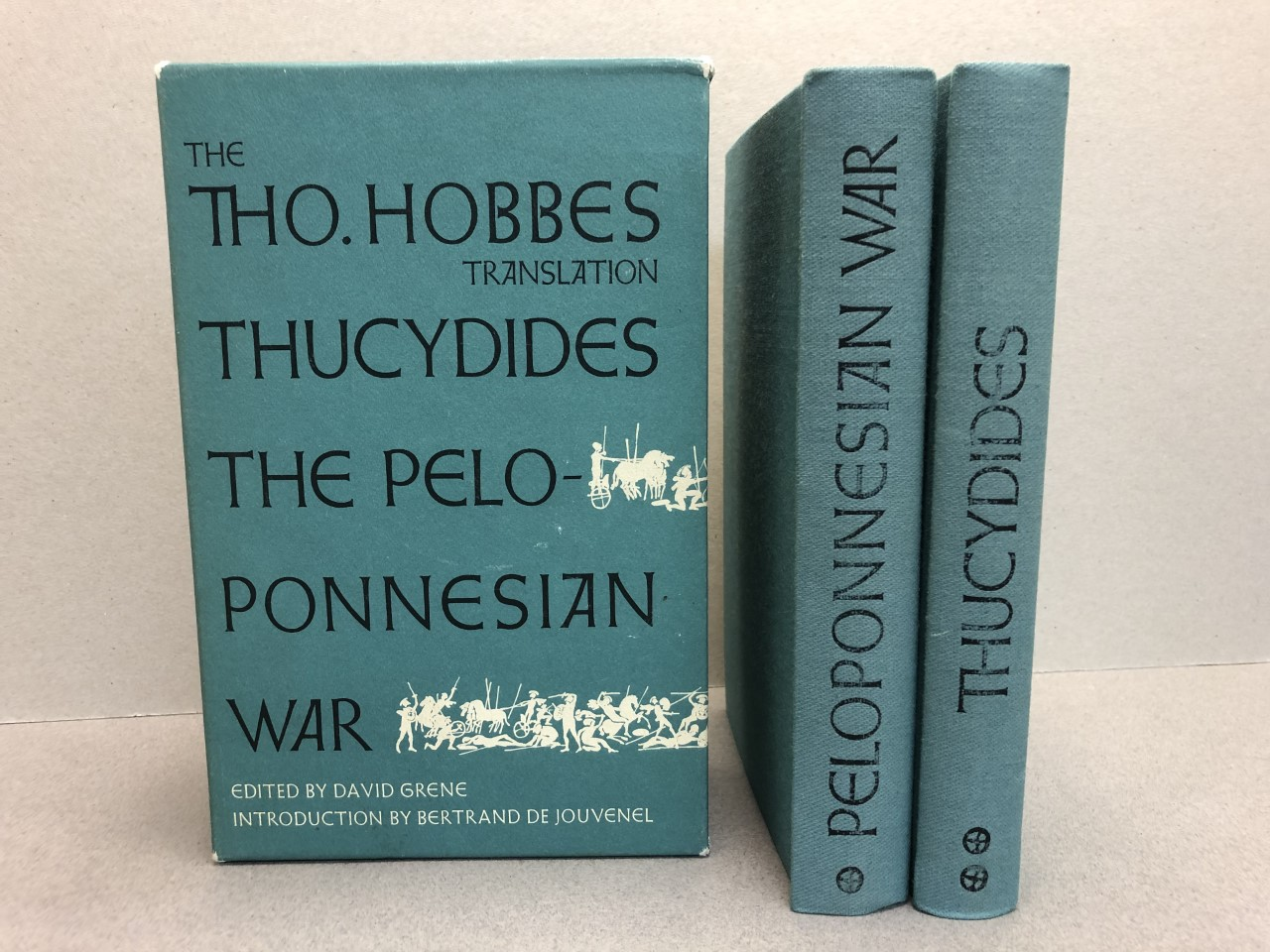Image for THUCYDIDES THE PELOPONNESIAN WAR  ( VOLUME 1 & 2 )