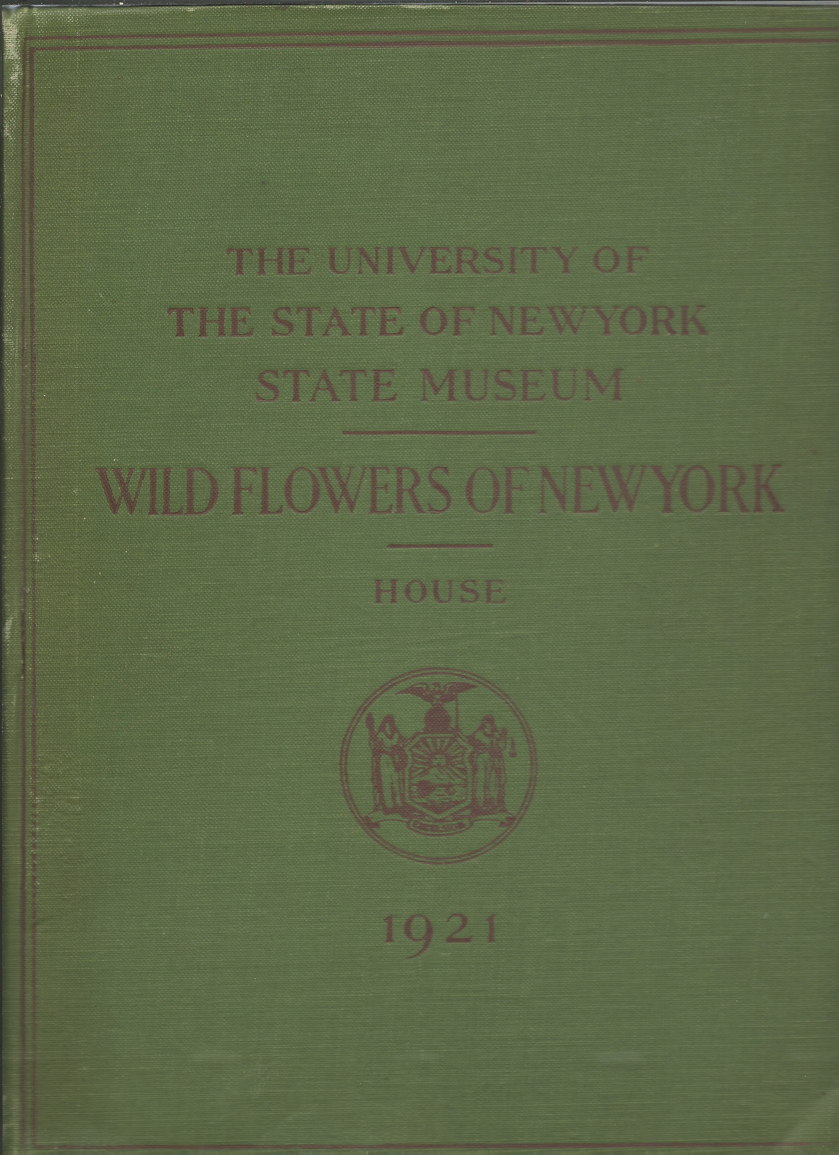 Image for WILDFLOWERS OF NEW YORK : The University of the State of New York State Museum