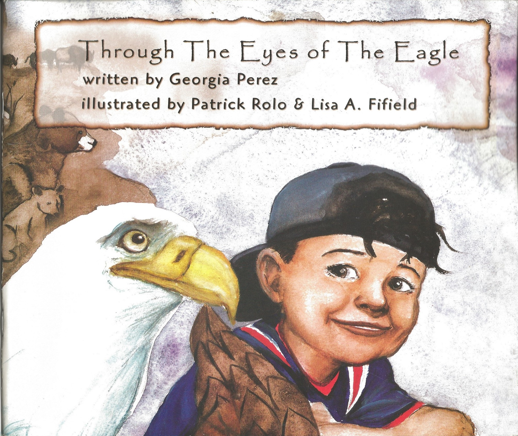 Image for THROUGH THE EYES OF THE EAGLE