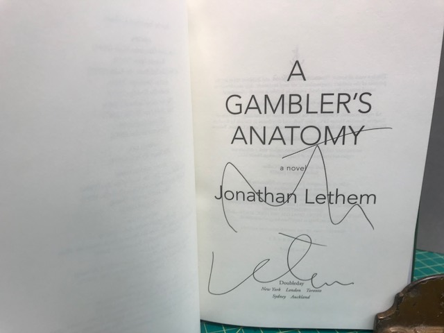Image for A GAMBLER'S ANATOMY (signed)