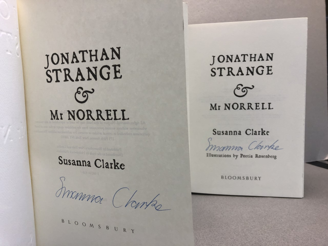 Image for JONATHAN STRANGE & Mr. NORRELL ( ( White on Red Holiday Edition ) Signed