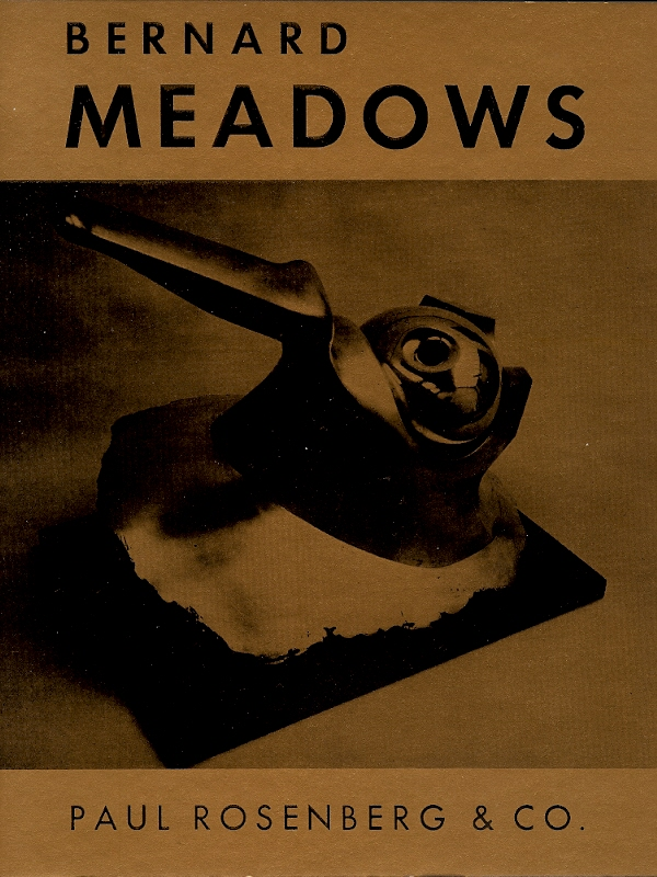 BERNARD MEADOWS : November 13 to December 16, 1967