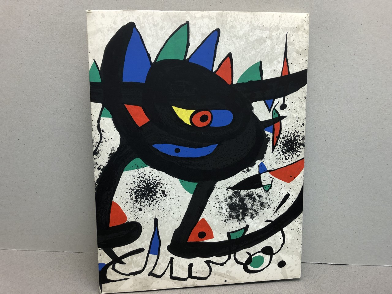 MIRO Painting Gouaches SOBRETEIXIMS Sculpture Etchings with Print
