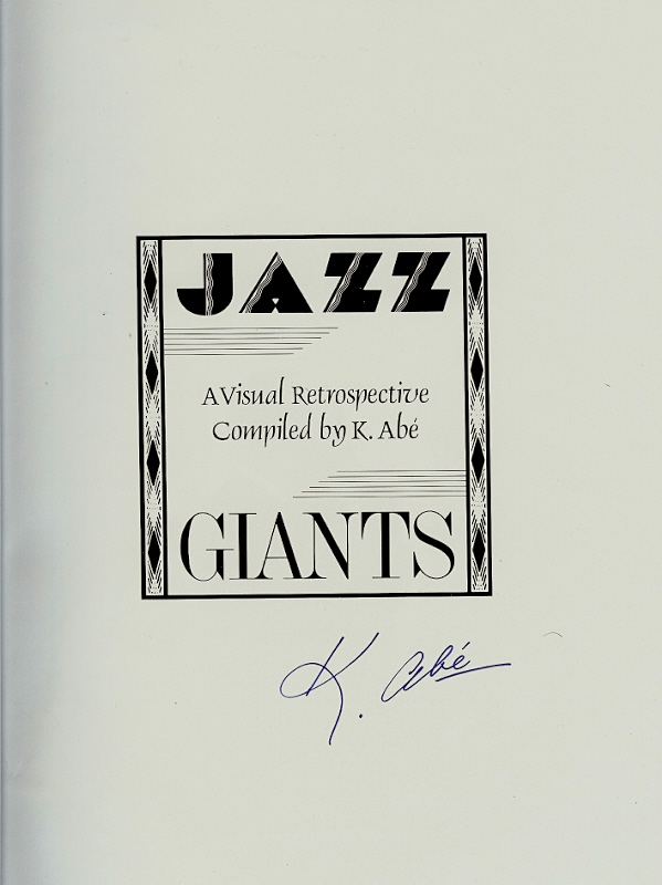 Image for JAZZ : A Visual Retrospective ( signed )