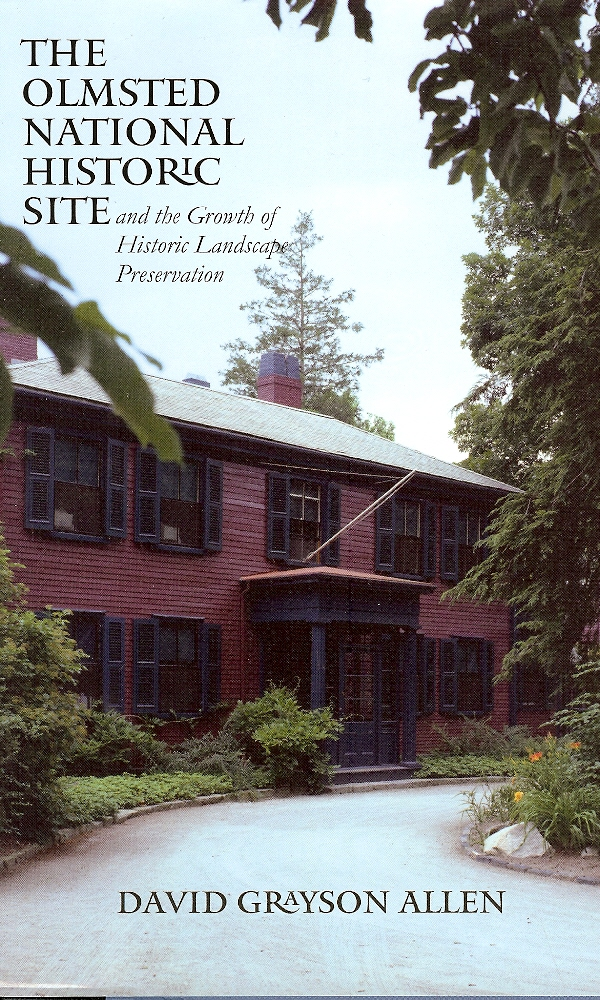 Image for The Olmsted National Historic Site and the Growth of Historic Landscape Preservation
