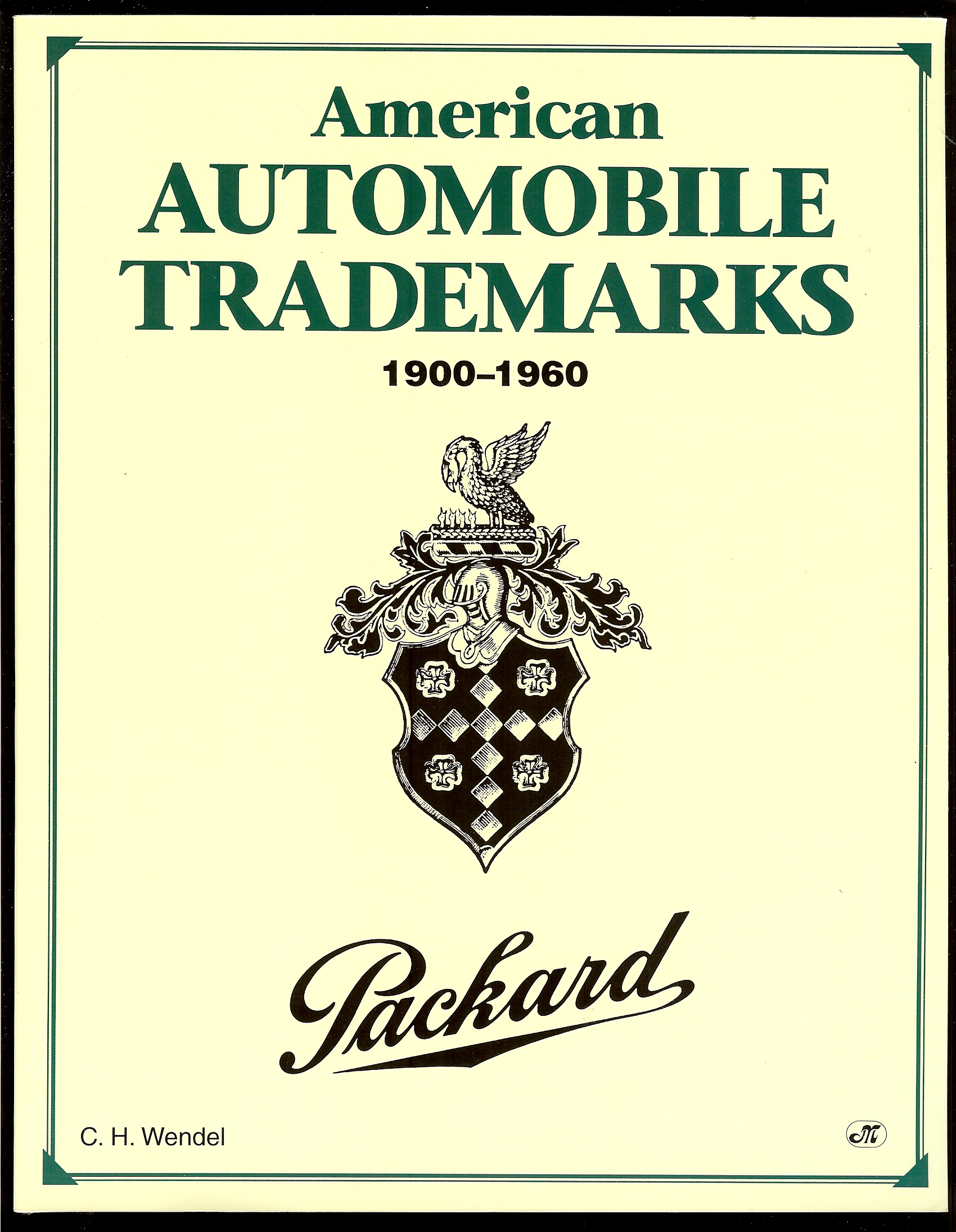 Image for AMERICAN AUTOMOBILE TRADEMARKS 1900 - 1960