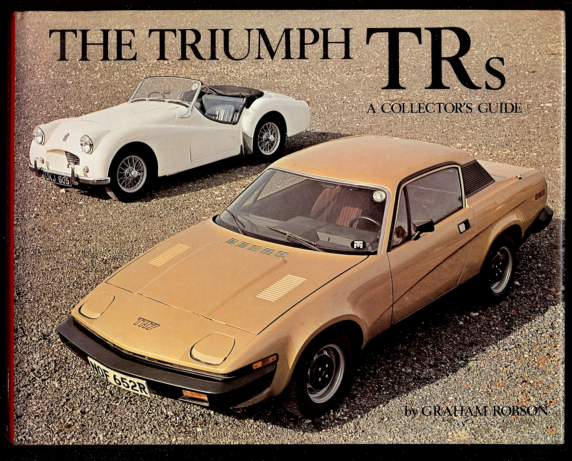 Image for THE TRIUMPH TRs : A Collector's Guide