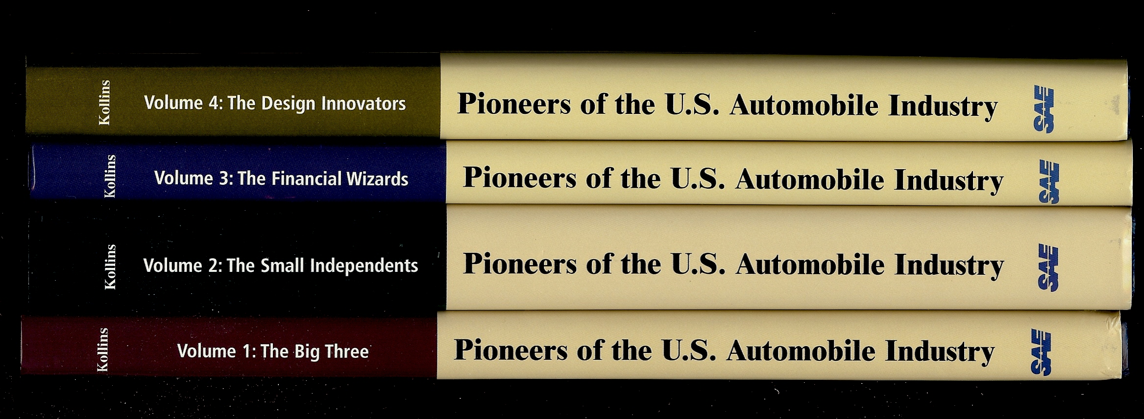Image for PIONEERS OF THE U.S. AUTOMOBILE INDUSTRY ( All Four Volumes )