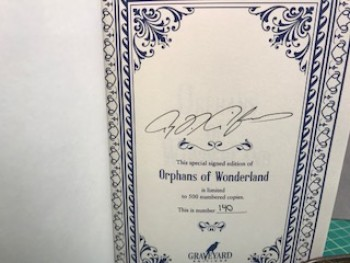Image for ORPHANS OF WOUNDERLAND
