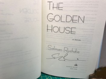 Image for THE GOLDEN HOUSE (signed)
