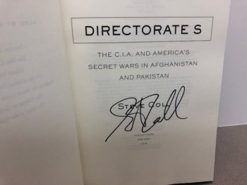Image for DIRECTORATE S : The C.I.A. and America's Secret Wars in Afghanistan and Pakistan  (SIGNED)