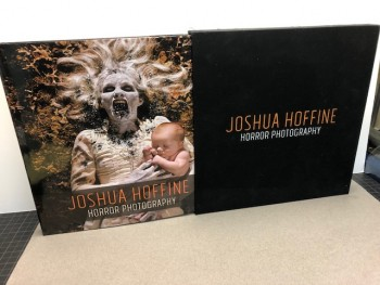 Image for Joshua Hoffine Horror Photography Book Deluxe Hardcover (signed)