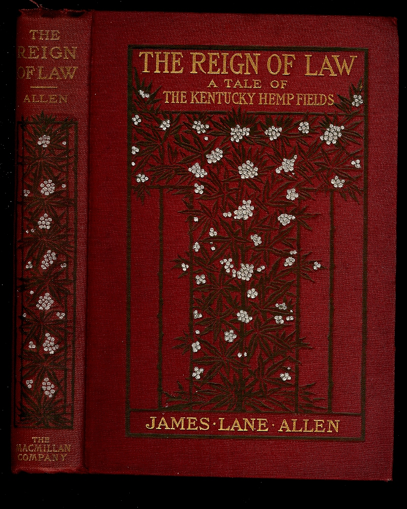 Image for THE REIGN OF LAW : A Tale Of The Kentucky Hemp Fields