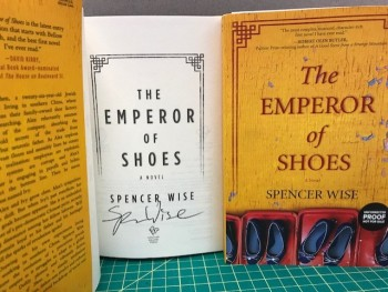 Image for The Emperor of Shoes (signed)