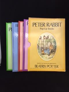 Image for PETER RABBIT : Pop-up Books ( 4 Volume )