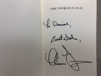 Image for THE WORLD IS FLAT : A Brief History of the Twenty-first Century ( signed )