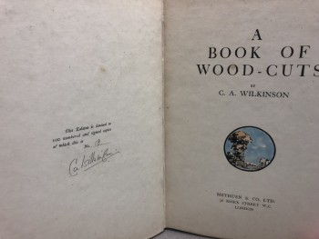 Image for A BOOK OF WOOD-CUTS