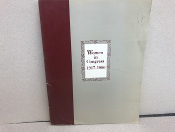 Image for WOMEN IN CONGRESS 1917 - 1990