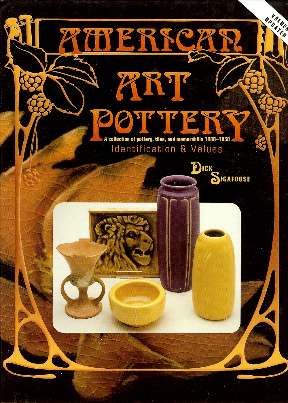 Image for AMERICAN ART POTTERY : A Collection of Pottery , Tiles , and Memorabilia 1880 - 1950
