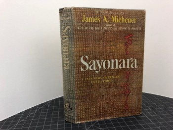 Image for SAYONARA : A Japanese - American Love Story