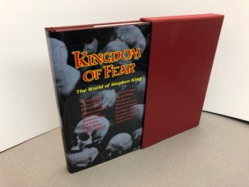 Image for KINGDOM OF FEAR : The World of Stephen King ( Signed Edition )