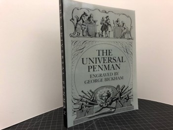 Image for THE UNIVERSAL PENMAN : Engraved by George Bickham
