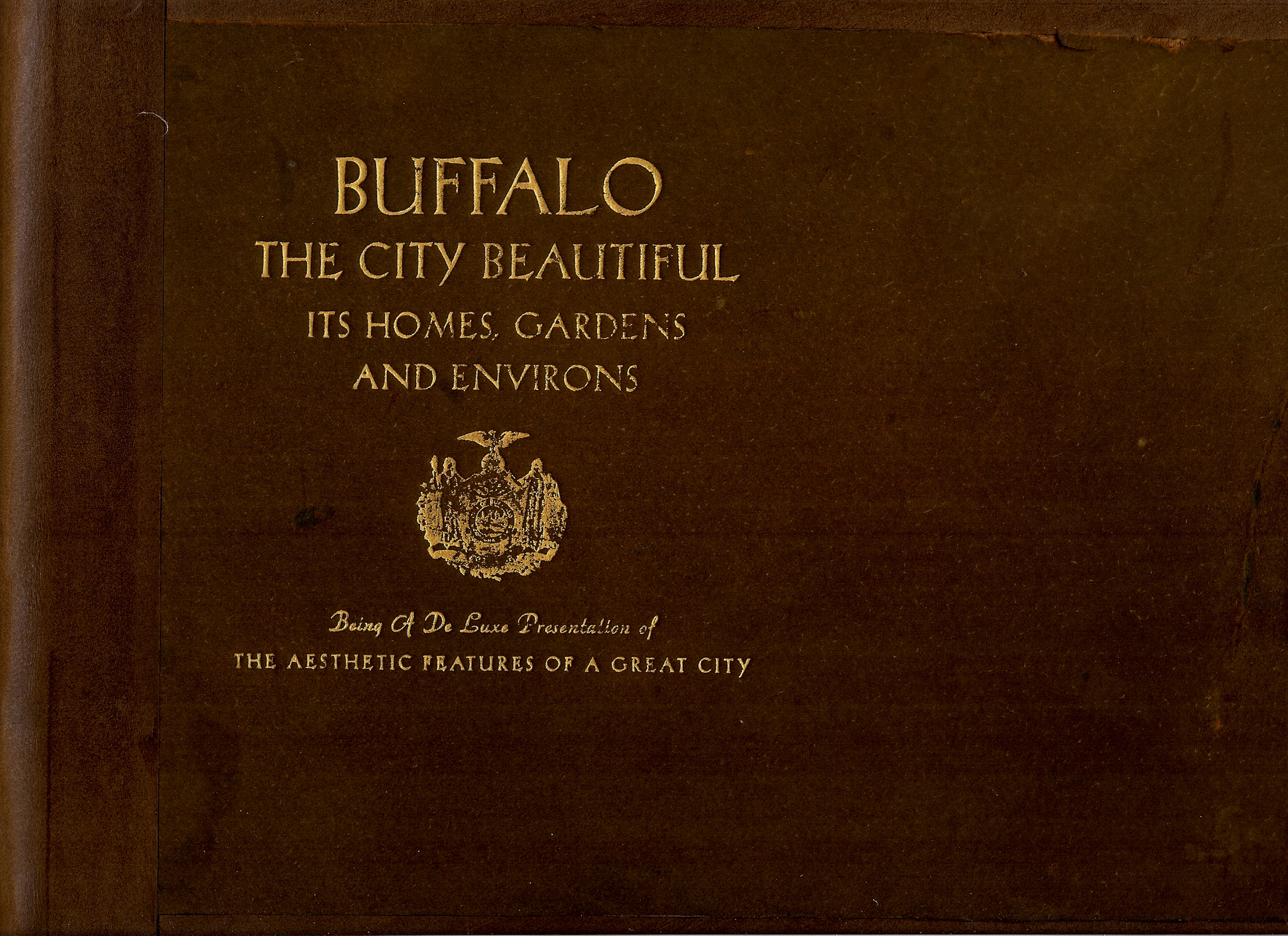 Image for BUFFALO , THE CITY BEAUTIFUL , ITS HOMES , GARDENS AND ENVIRONS , BEING A DELUXE PRESENTATION OF THE AESTHETIC FEATURES OF A GREAT CITY