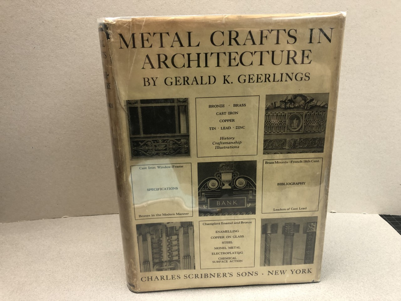 Image for METAL CRAFTS IN ARCHITECTURE
