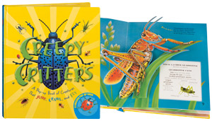 Image for CREEPY CRITTERS : A Pop-Up Book of Creatures That Jump , Crawl , and Fly