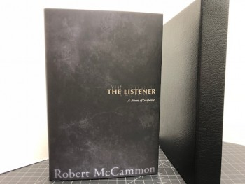 Image for THE LISTENER : A Novel of Suspense (signed limited edition)