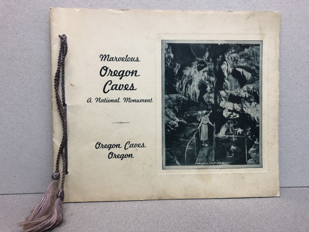 Image for MARVELOUS OREGON CAVES : A National Mounment