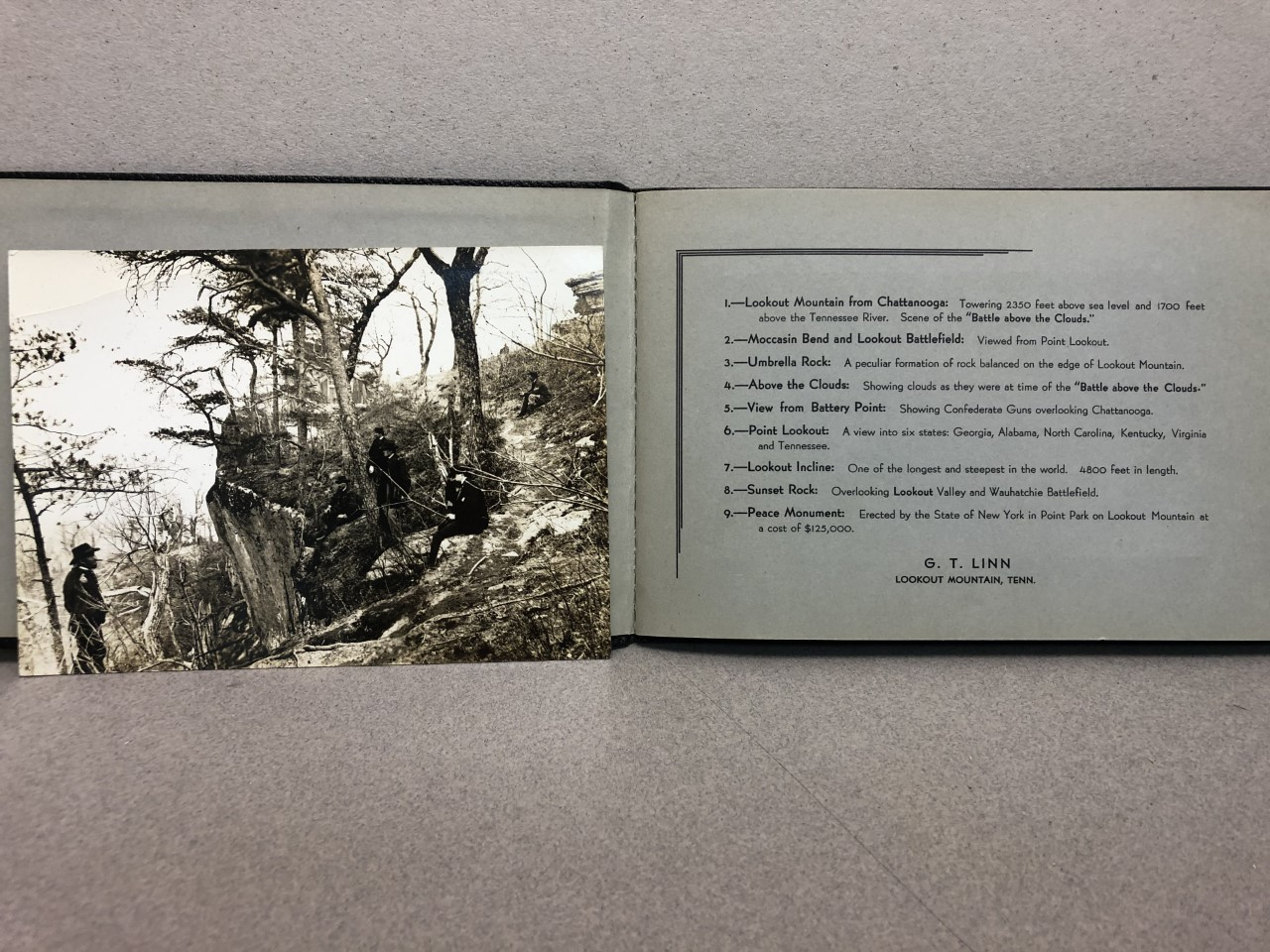 Image for PHOTOGRAPHS OF LOOKOUT MOUNTAIN