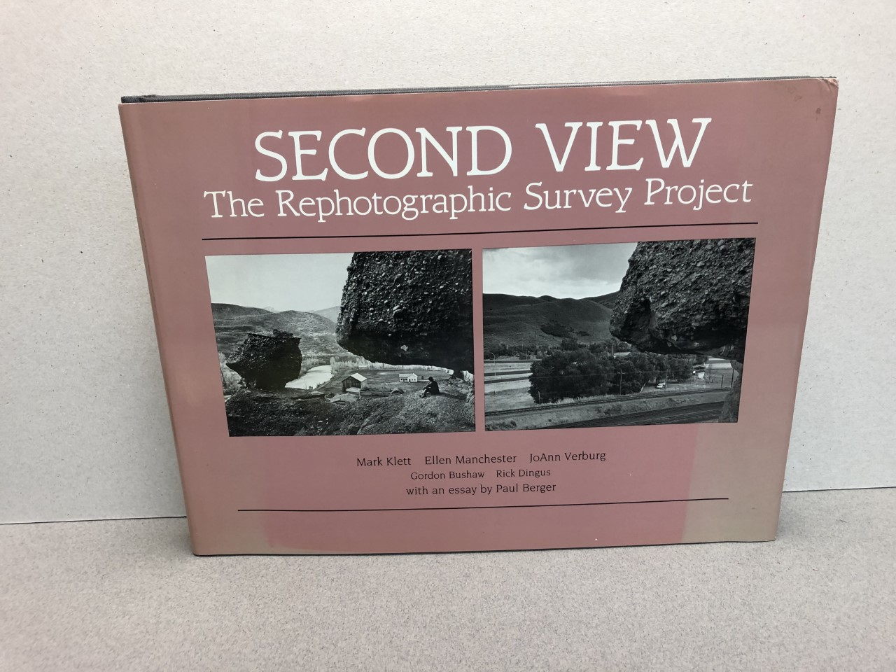 Image for Second View: The Rephotographic Survey Project