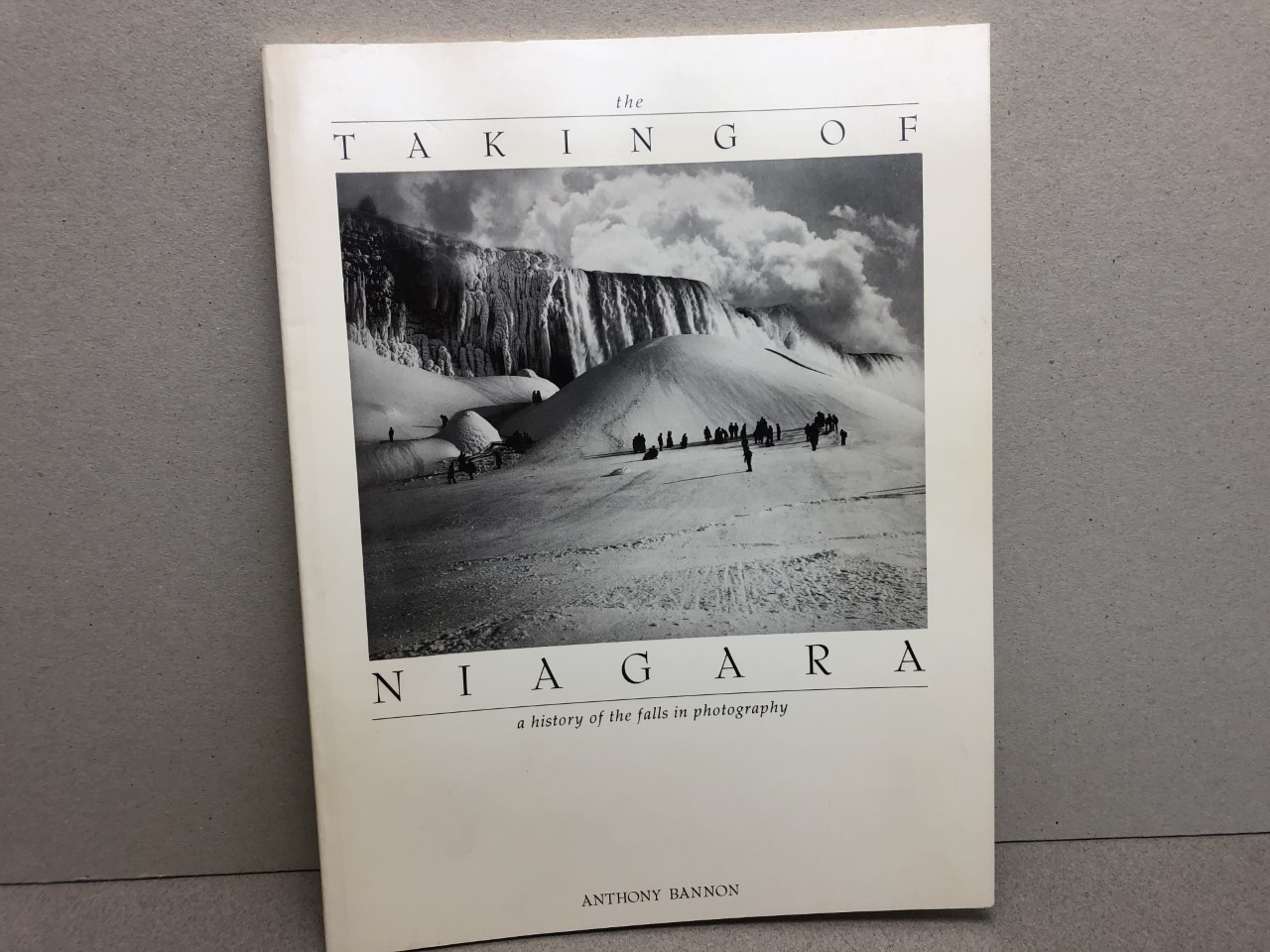 Image for THE TAKING OF NIAGARA : A History of The Falls in Photography