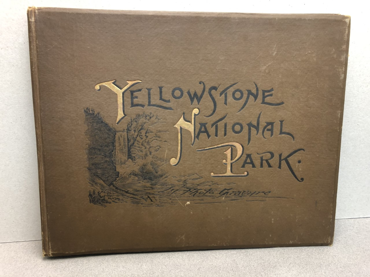 Image for YELLOWSTONE NATIONAL PARK : In Photogravure