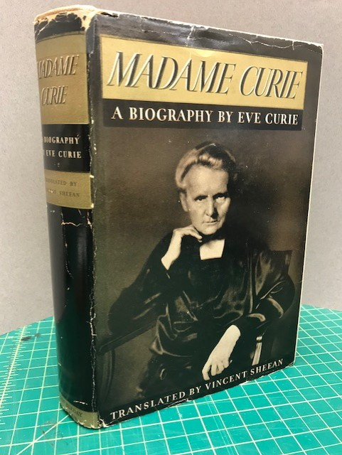 Image for MADAME CURIE : A Biography By Eve Curie