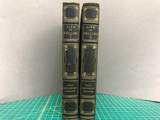 Image for THE LIFE OF BENVENUTO CELLINI WITTEH BY HIMSELF ( 2 Vol. Set )