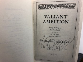 Image for VALIANT AMBITION : George Washington, Benedict Arnold, and the Fate of the American Revolution  (signed)