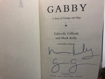 Image for GABBY : A Story of Courage and Hope ( signed by both authors)